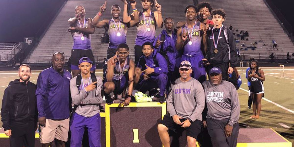 Lufkin boys win 16-5A district meet