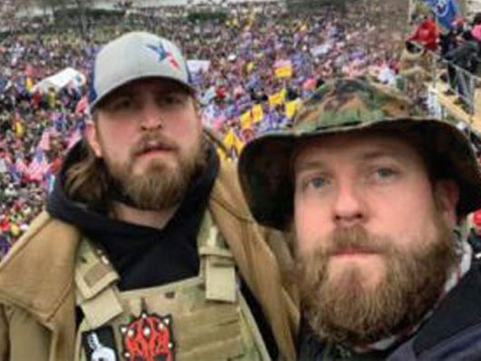 2 East Texans accused of taking part in U.S. Capitol siege charged with federal crimes