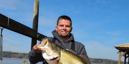 Man makes catch of a lifetime on Lake Nacogdoches