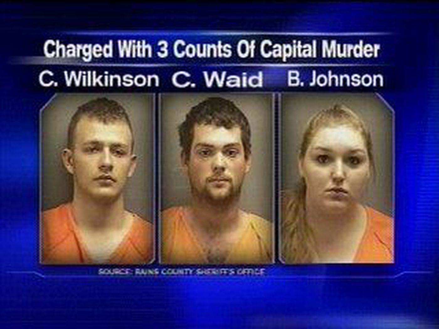 Brutal Slaying Of Family Daughter Arrested Wilkinson and waid stabbed and shot the family then burned. brutal slaying of family daughter arrested