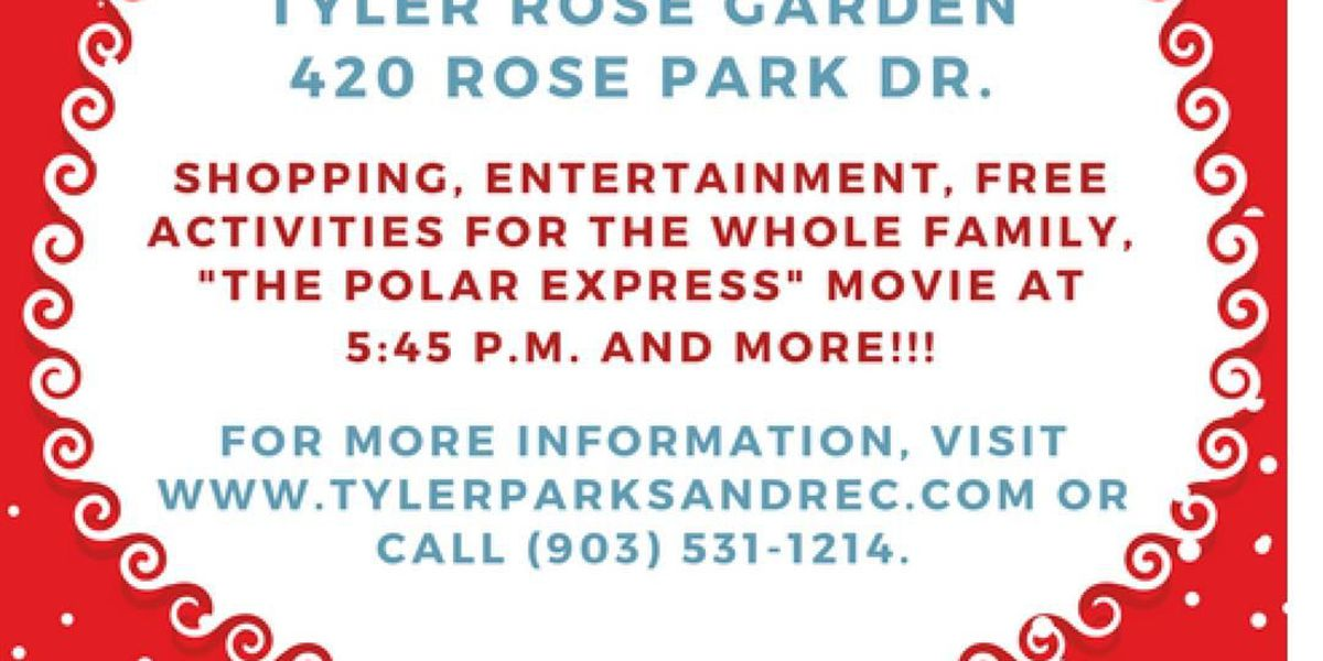 Tyler's Holiday in the Park becomes Holiday in the Garden and Bazaar