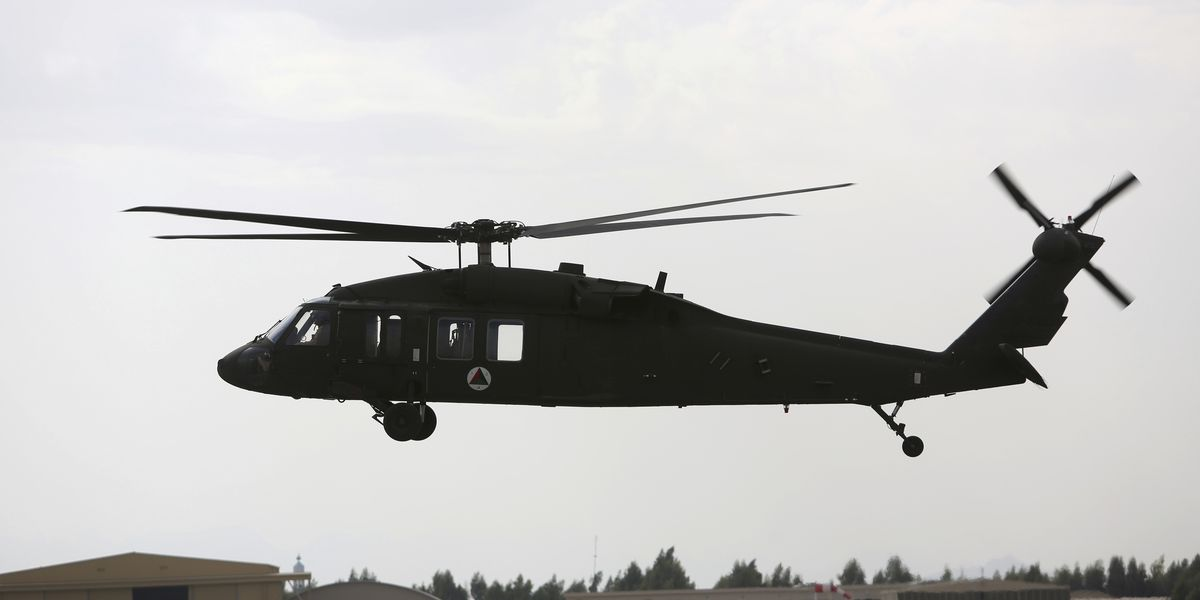 Black Hawk helicopter crashes in Minnesota with 3 aboard