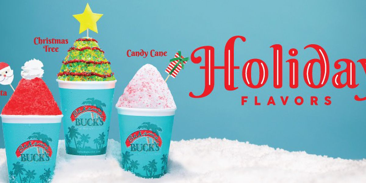 Bahama Buck's giving away free sno cones on Tuesday