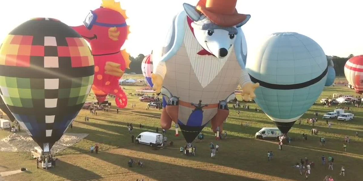 WEBXTRA: Saturday Morning balloon race cancelled, evening events should go as planned