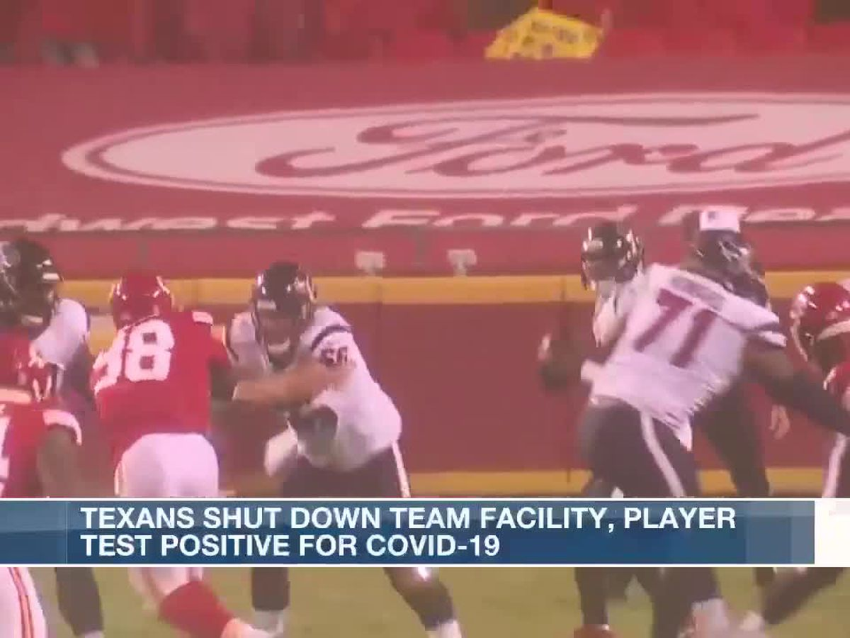 Team facility for Houston Texans closed after player tests positive for COVID-19