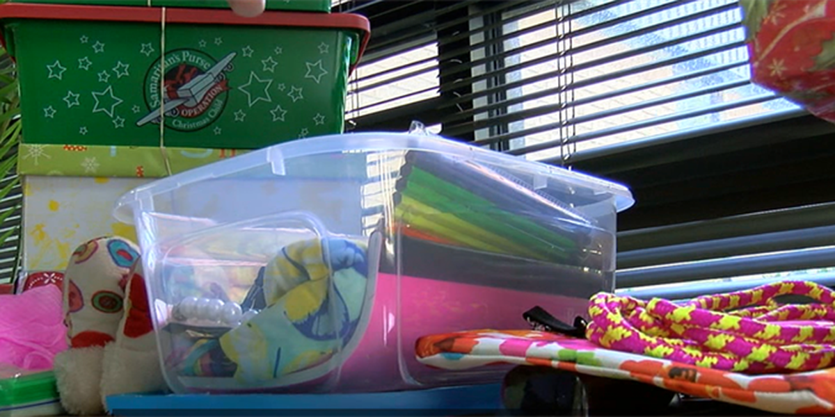 ETX school contributes to 'Operation Christmas Child'