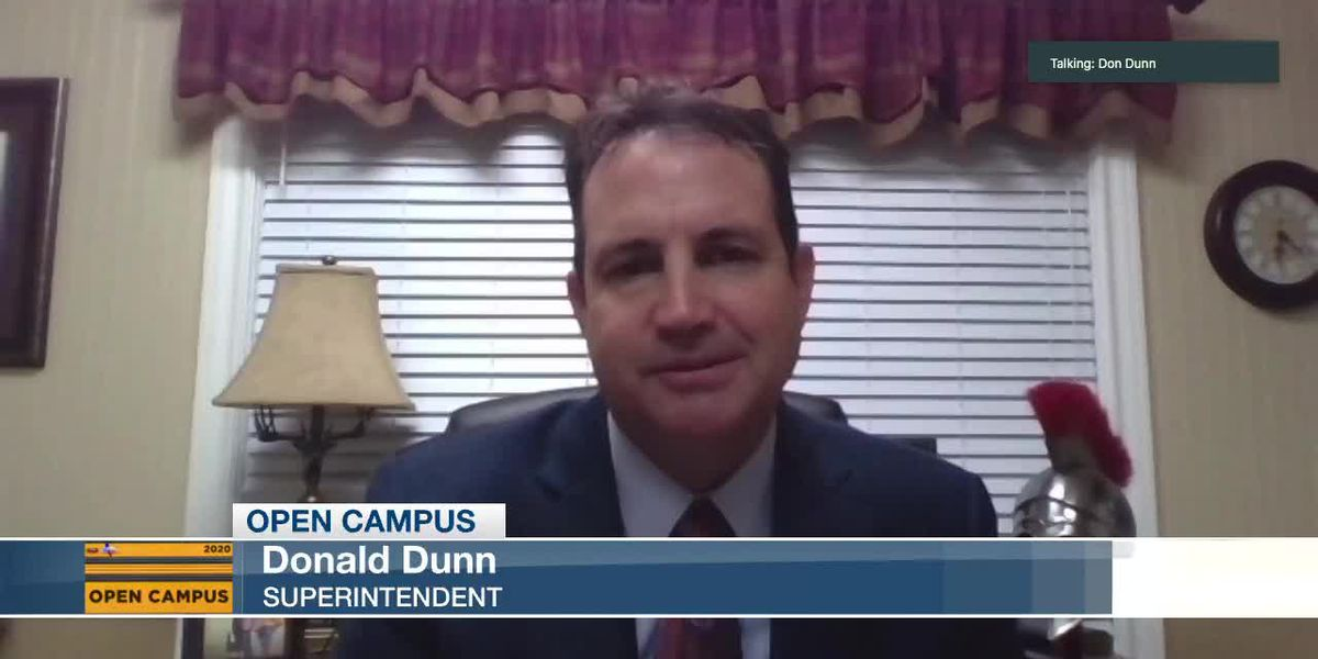 OPEN CAMPUS: Van ISD Supt. Don Dunn says 23 percent of students are virtual this year