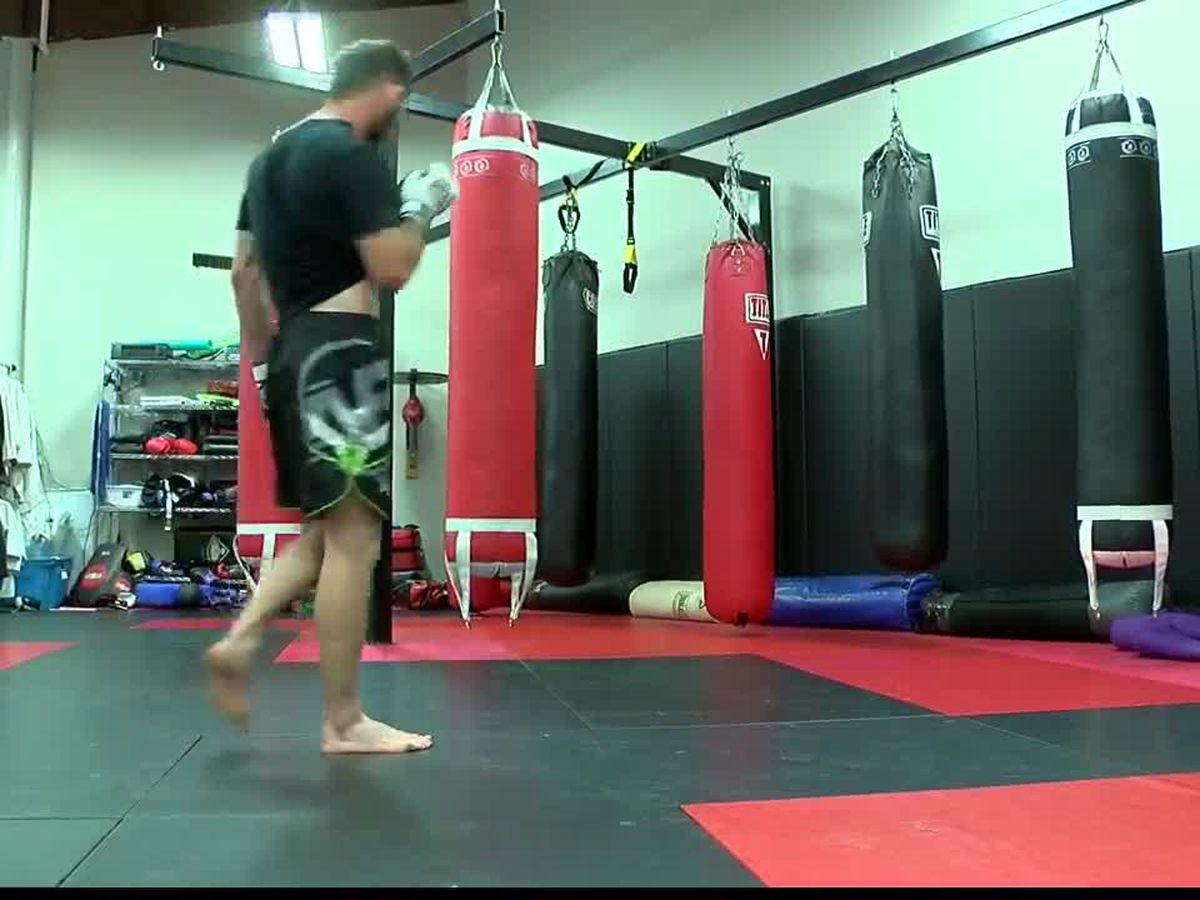 East Texan trades prison For MMA