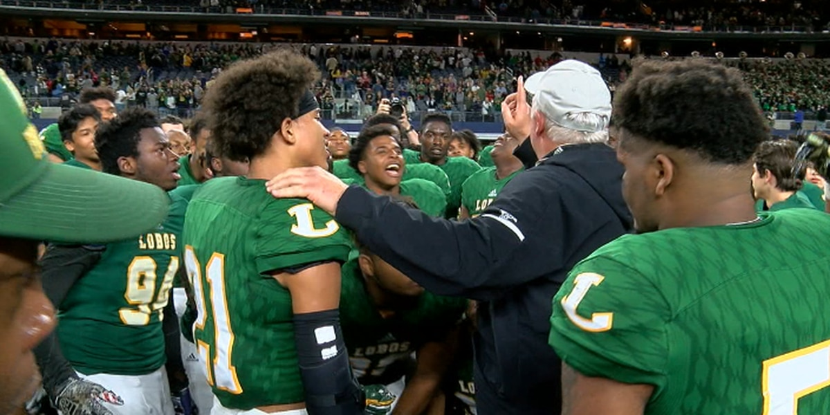 VIDEO: Matthew McConaughey wishes Longview Lobos good luck in state title game
