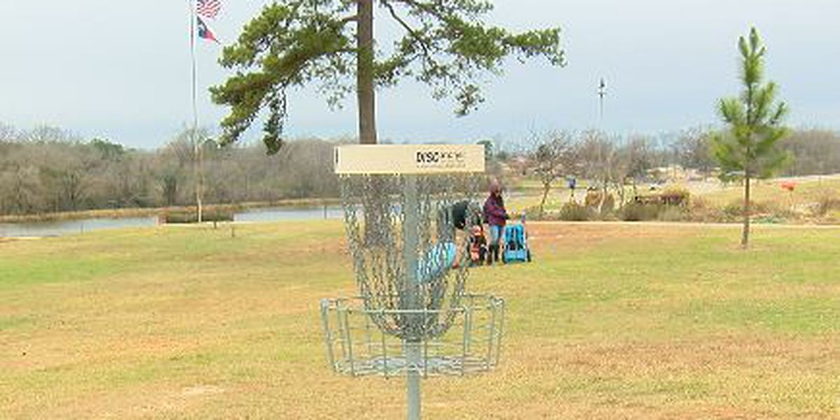 WEBXTRA: Professional disc golf tournament held in Henderson