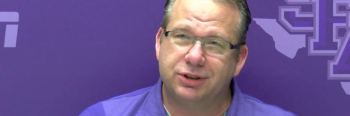 Coach Kellor talks about SFA getting Top 25 points