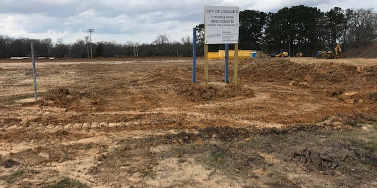 Despite weather setbacks, Longview park improvements remain on schedule