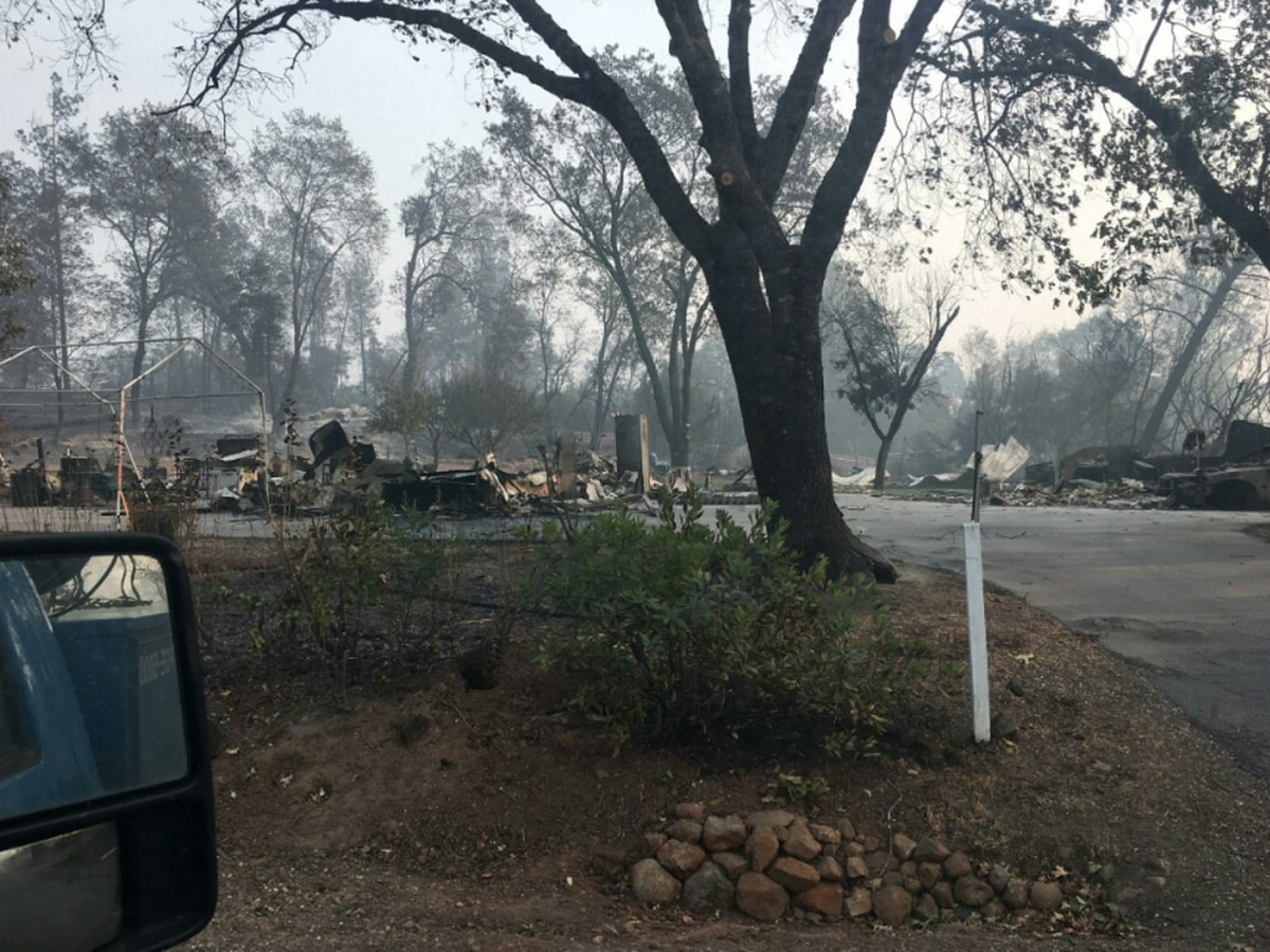 East Texan speaks about sister after CA wildfire destroys home