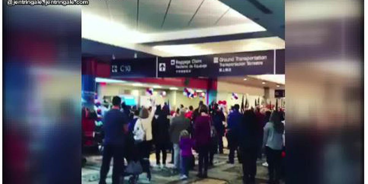 Video of Nashville airport coming to standstill to honor Gold Star families goes viral