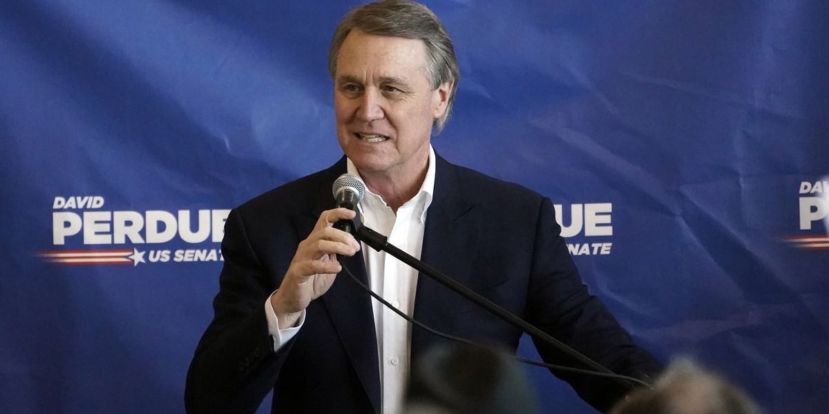Perdue declines runoff debates against Ossoff in Georgia