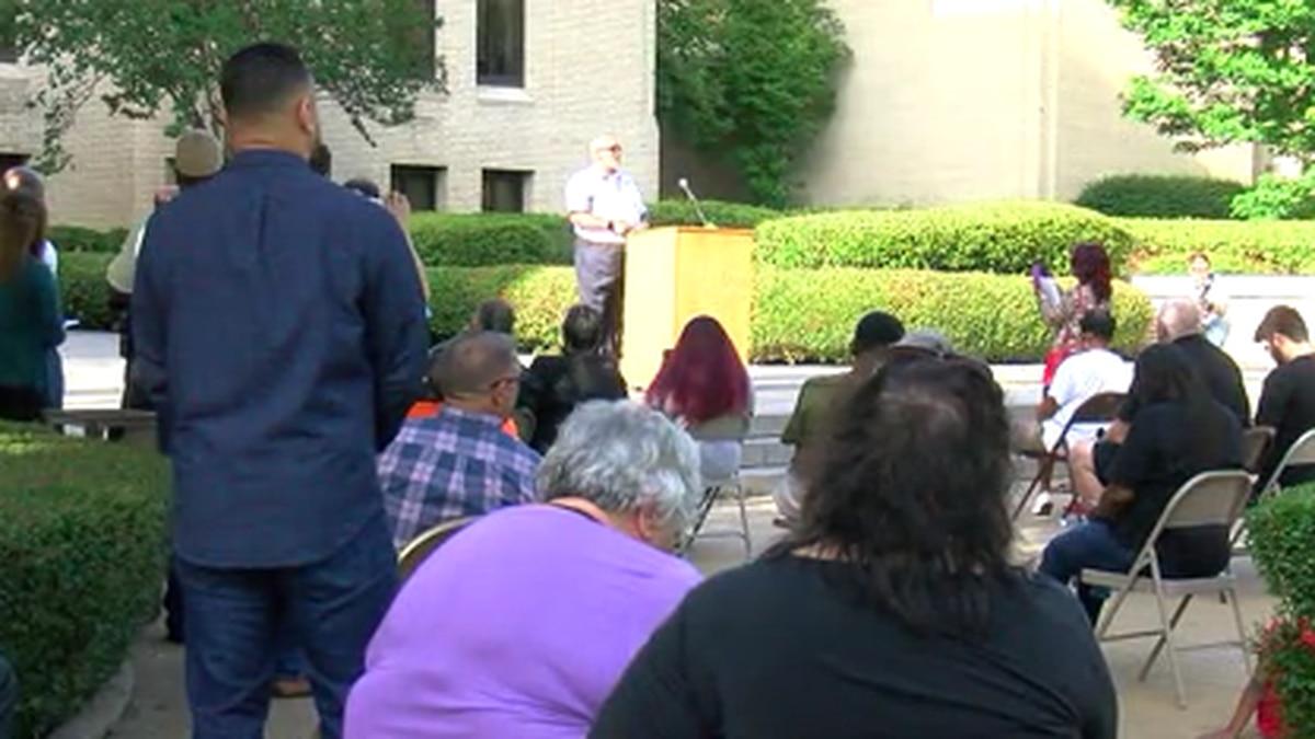 Pastors rally in Longview over Floyd death