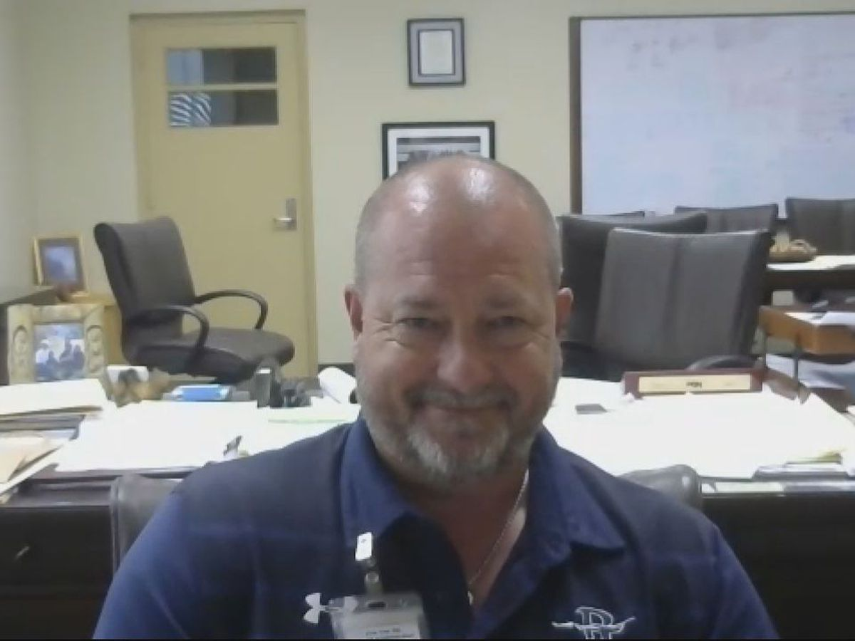 WATCH: Pine Tree ISD superintendent talks continued vigilance, upcoming football season
