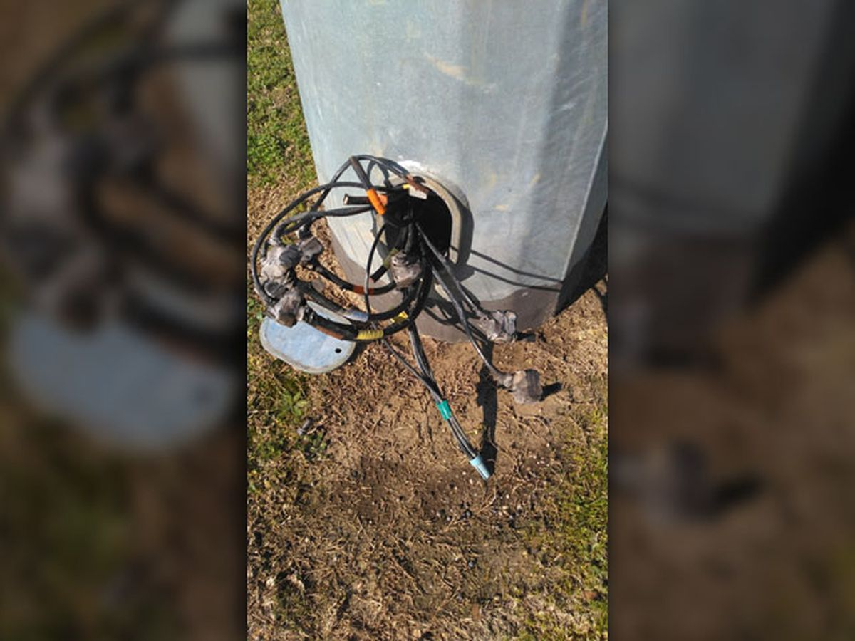 Mineola ISD police investigating copper theft at district softball field