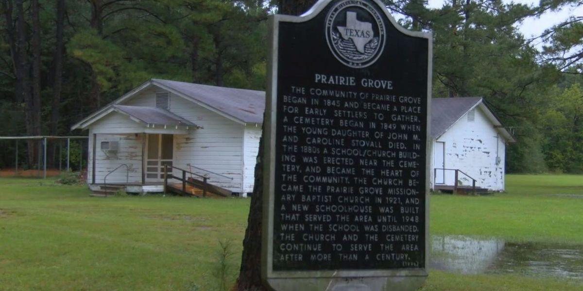 Mark in Texas History: Prairie Grove community of Angelina County