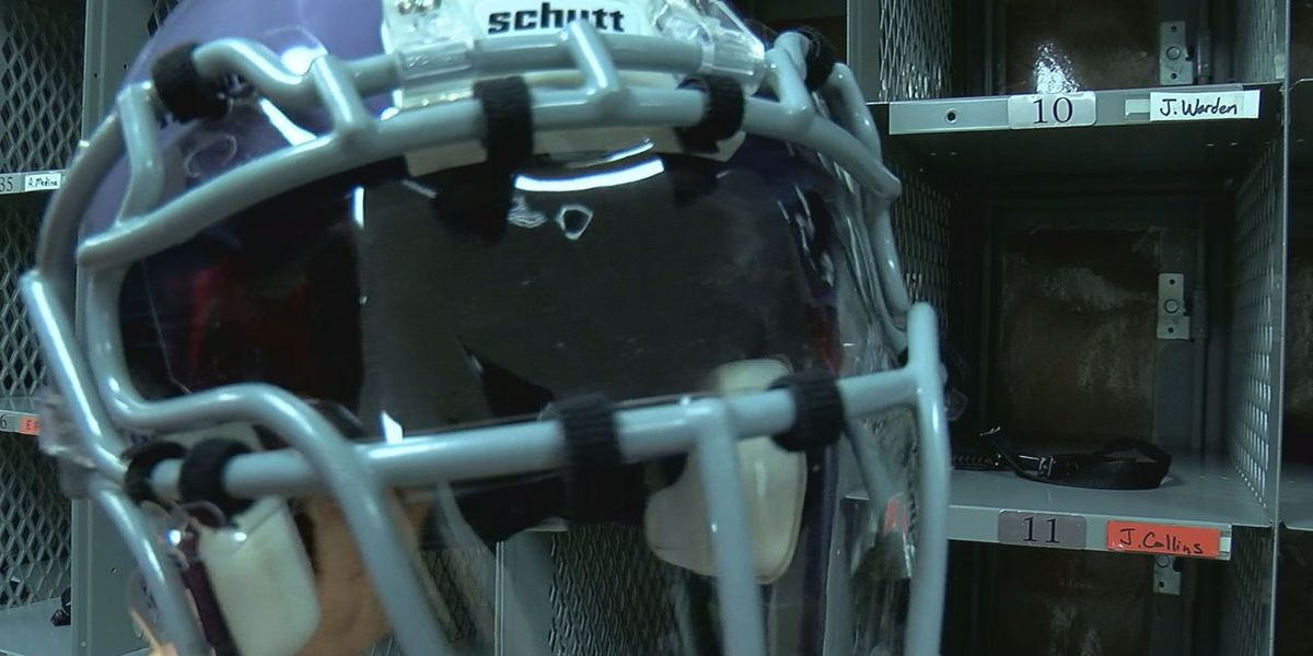High school teams using new face shields to help stop COVID-19 spread