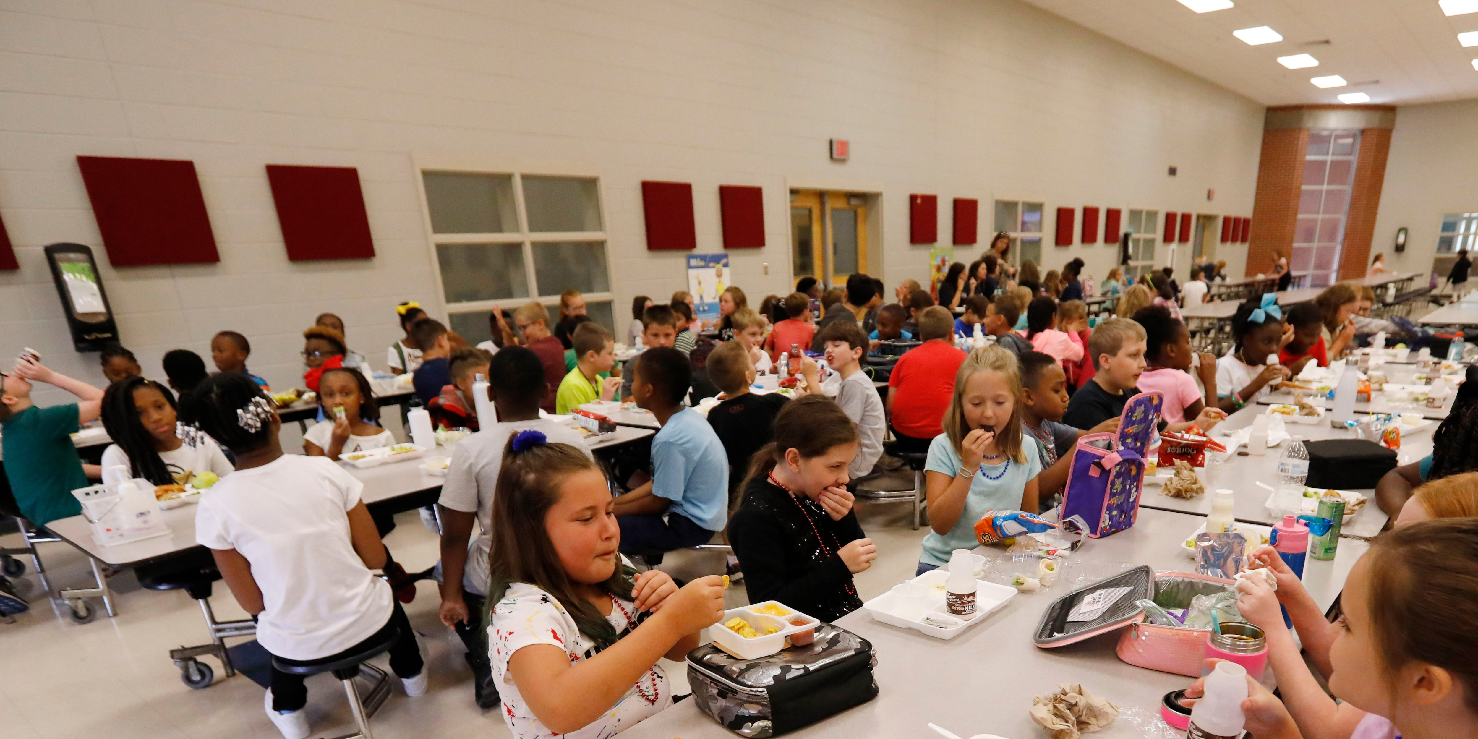 What's on school menus this fall? More than $1 billion worth of 'free' food because of trade disputes