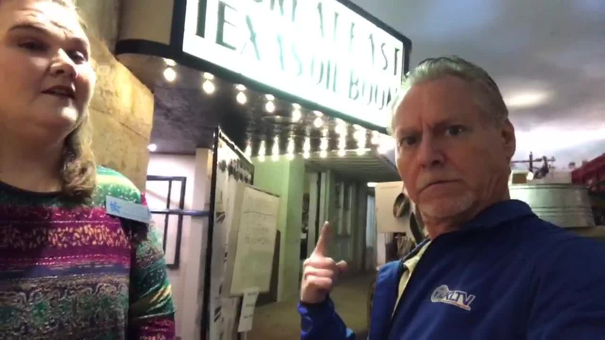 WEBXTRA: East Texas Oil Museum upgrading theater