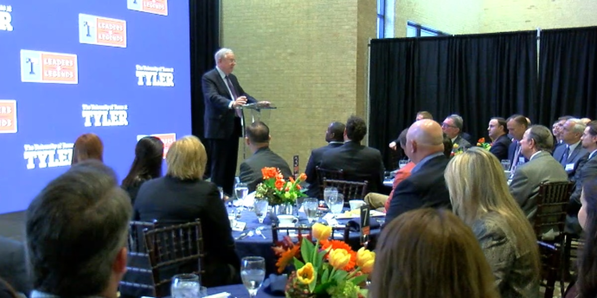 UT Tyler welcomes Forbes chairman to inaugural business leaders breakfast series