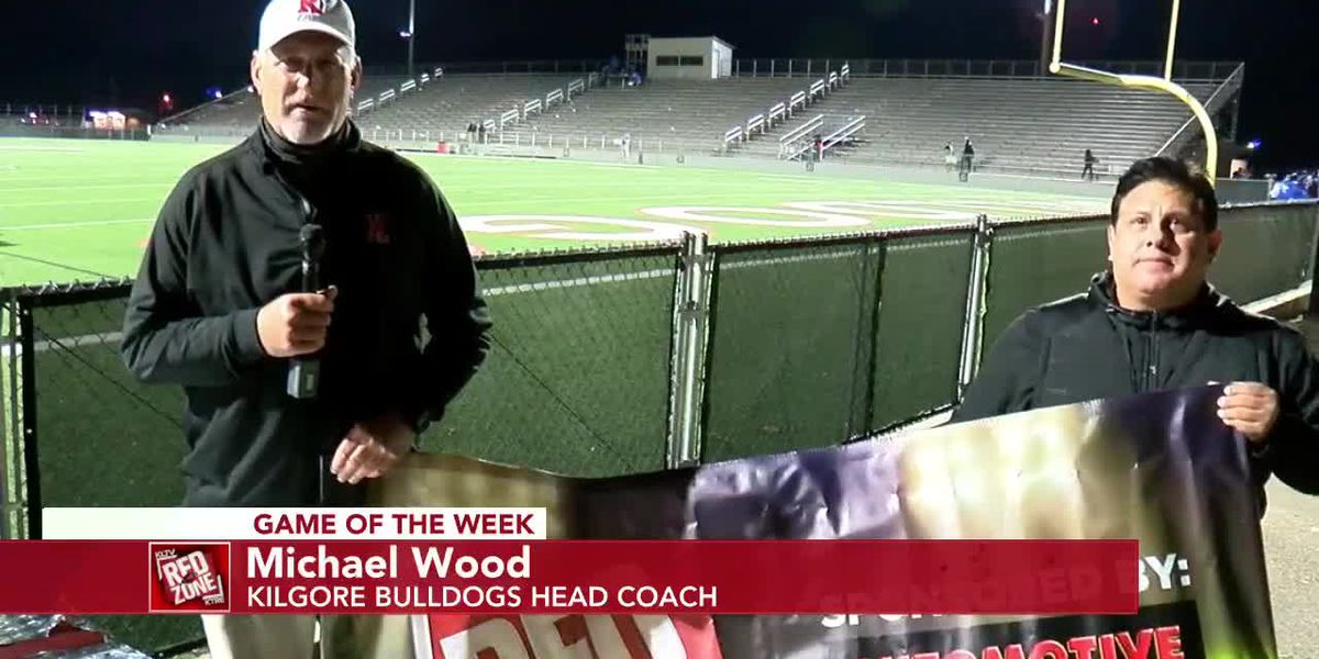 2020 Week Nine Coach Interview: Kilgore Bulldogs Head Coach Michael Wood