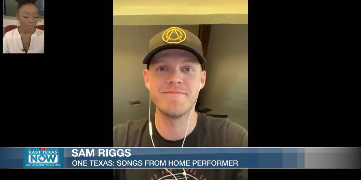 WATCH: Country artist Sam Riggs previews One Texas performance