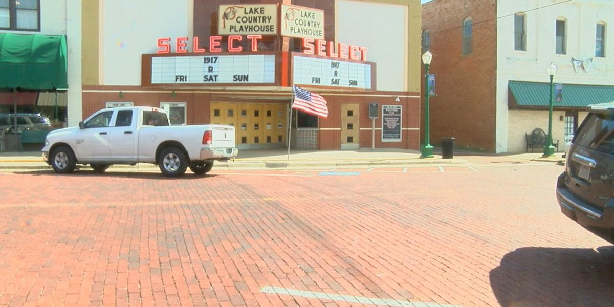 Mark in Texas History: Select Theater in Mineola