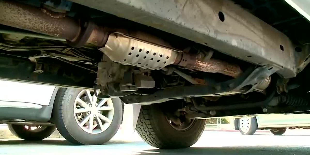 WebXtra: East Texas not spared from growing wave of catalytic converter thefts