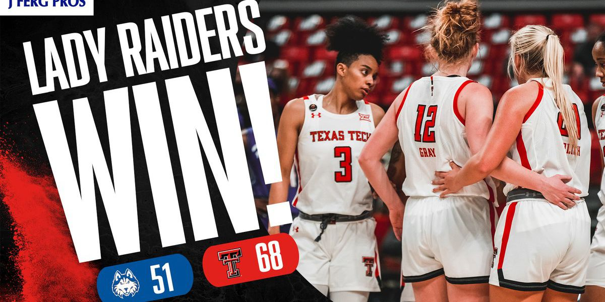 Lady Raiders overcome slow start to beat Houston Baptist