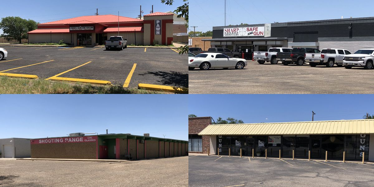 Lubbock Police, ATF investigating 4 gun store burglaries in 9 days