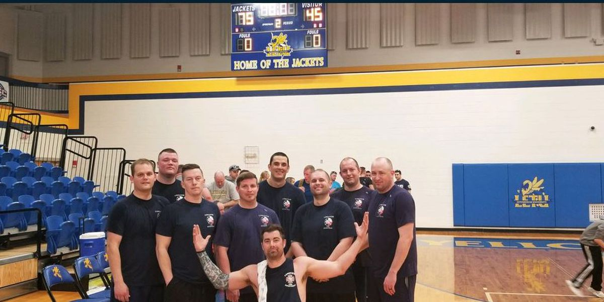 Longview Fire Department beats town's police department in inter-agency basketball game