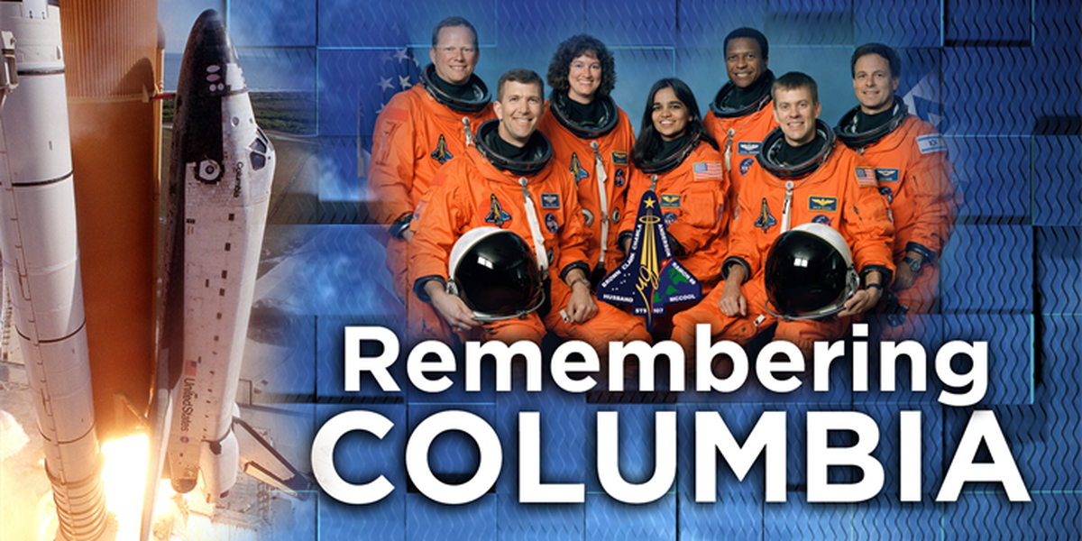 COMPLETE COVERAGE: 15th anniversary of Shuttle Columbia explosion
