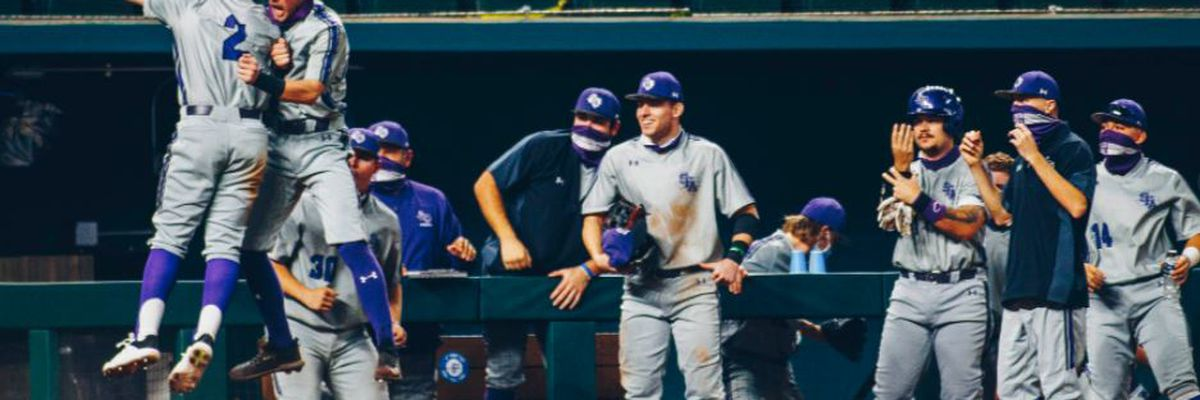 SFA Baseball opens 2021 season with upset win over No. 25 Oklahoma