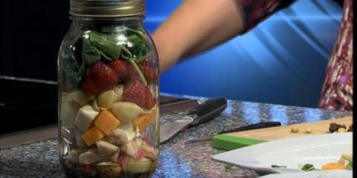 Mason jar salad ideas