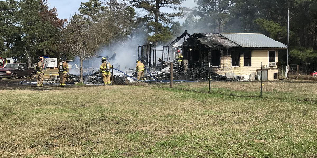 Crews responding to house fire in Rusk County