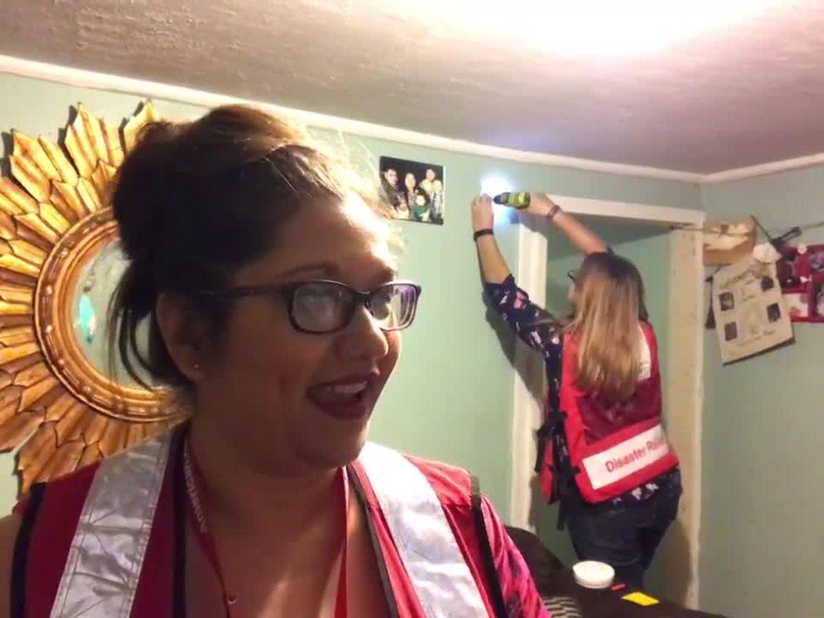 Webxtra: Red Cross installs free smoke detectors