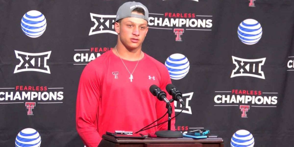 Sports WebXtra: Patrick Mahomes updated draft projection