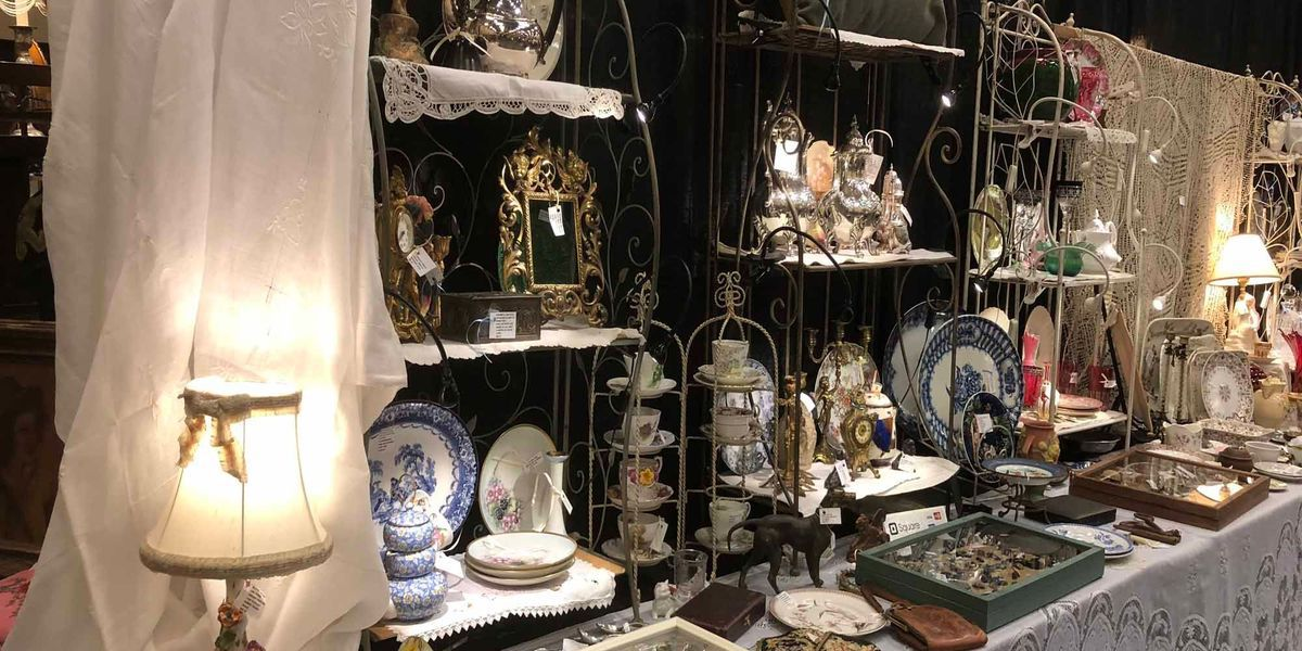 Find treasures from around the world at Zonta Antiques Show and Sale 2019