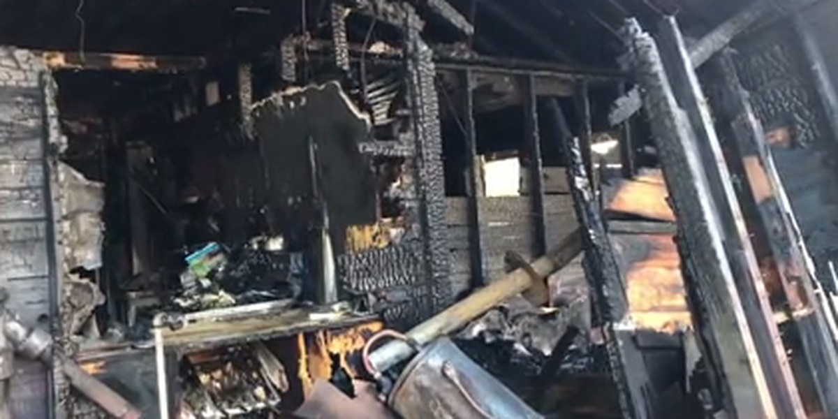 Morning fire destroys Rusk County deputy's home