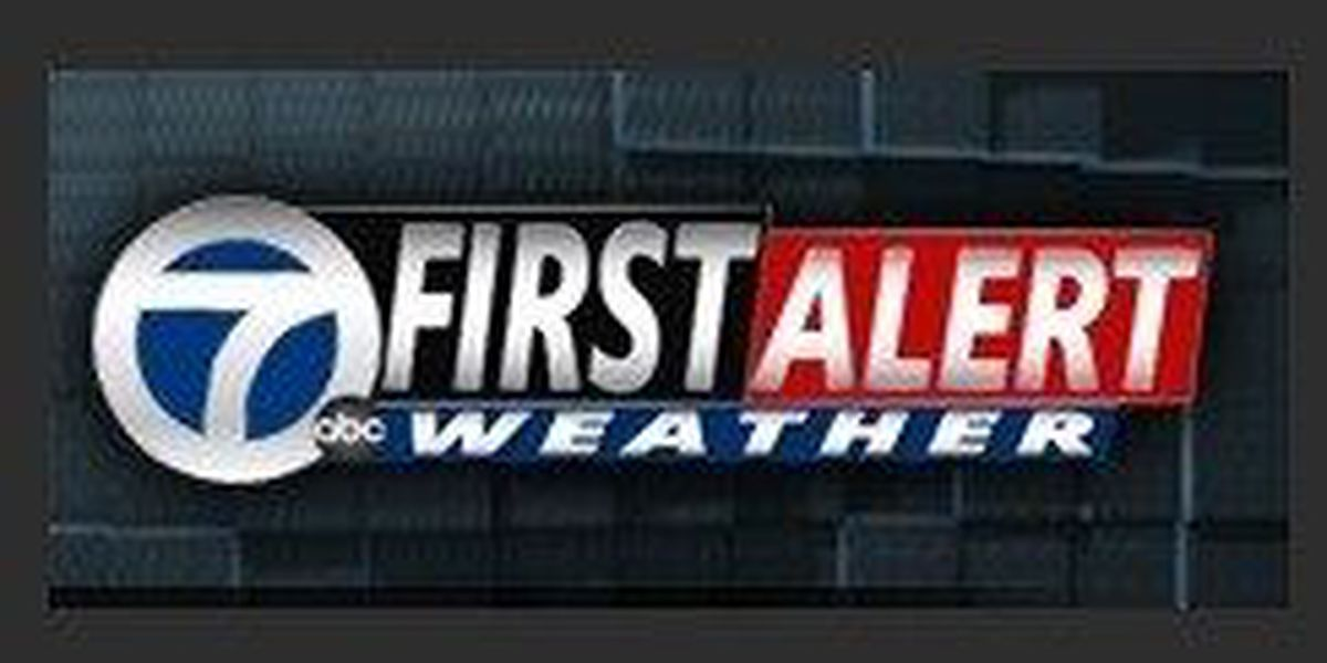 Friday's Weather: Overcast skies. Periods of scattered light showers. Highs in the lower 60s
