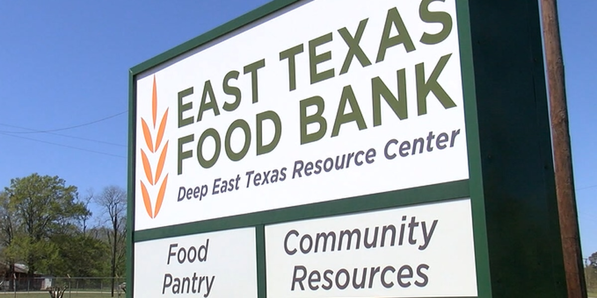 East Texas Food Bank to distribute free produce in Lufkin