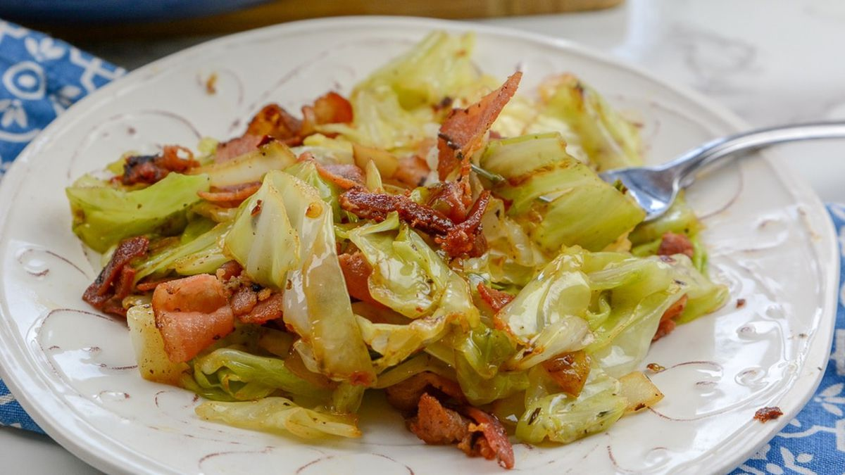 Mustard cabbage recipe by Brigitta's Hungarian Restaurant