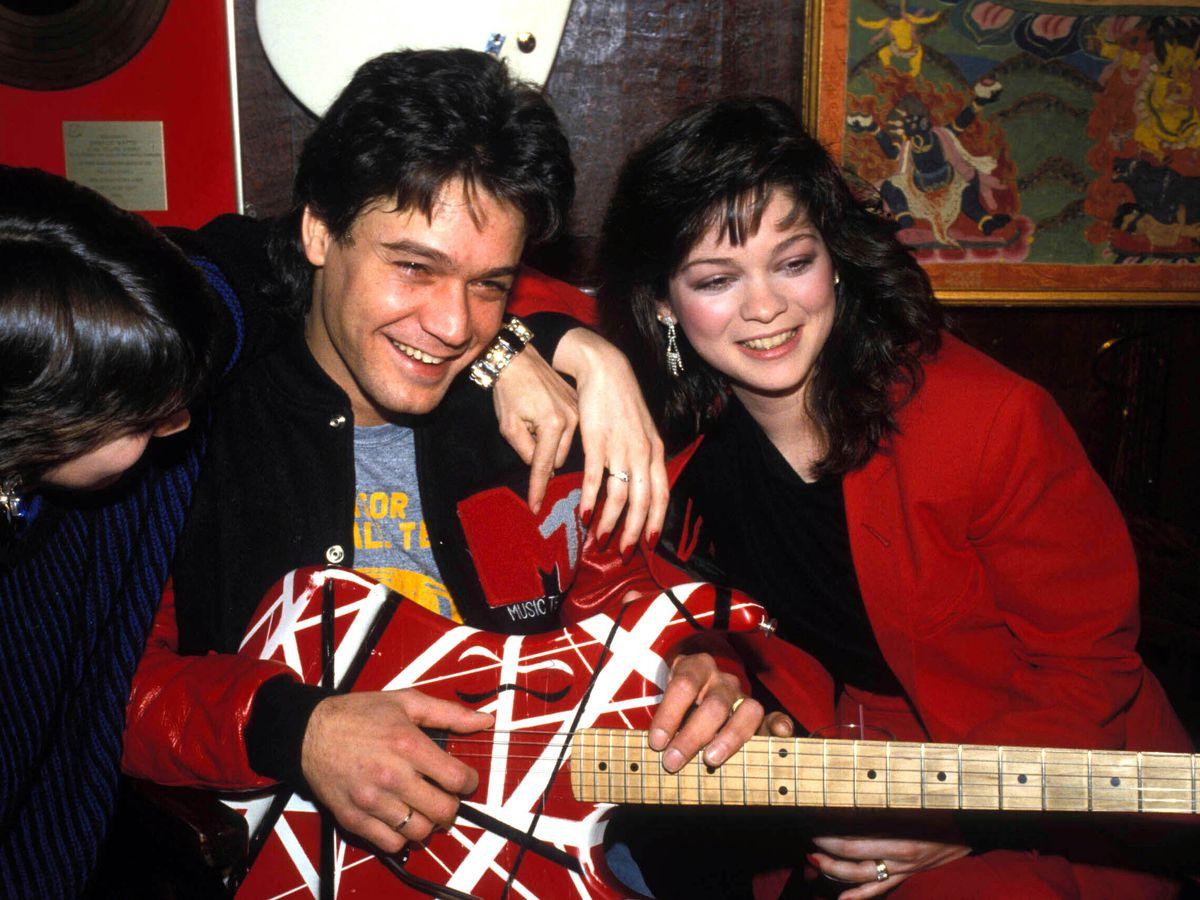 Guitars played, made by Eddie Van Halen go to auction