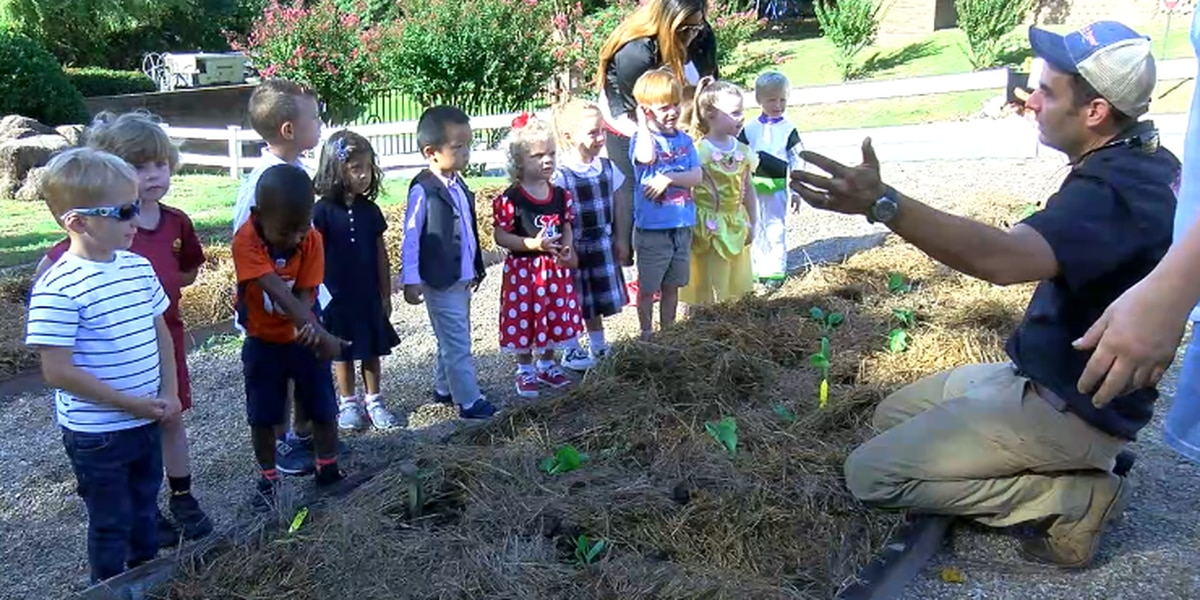 Kids learn healthy choices, sustainable living during All Saints Planting Day