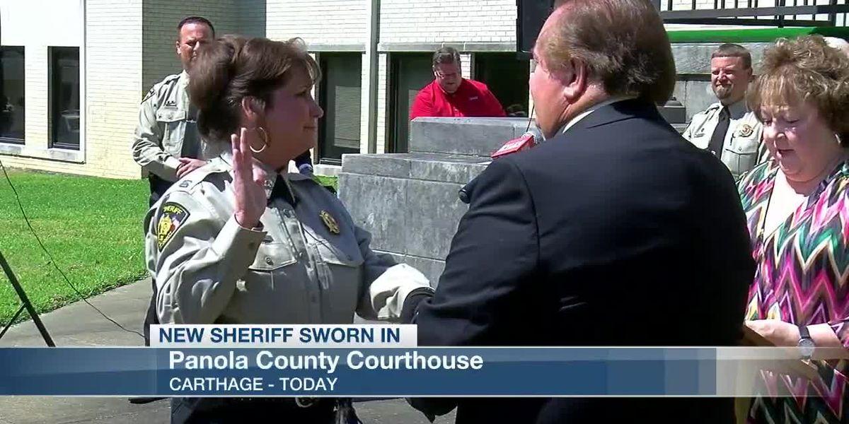 Sarah Fields sworn in as new Panola County sheriff