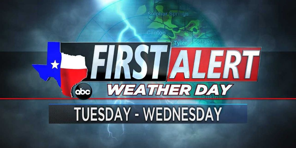 First Alert Weather Day issued for Tuesday, Wednesday