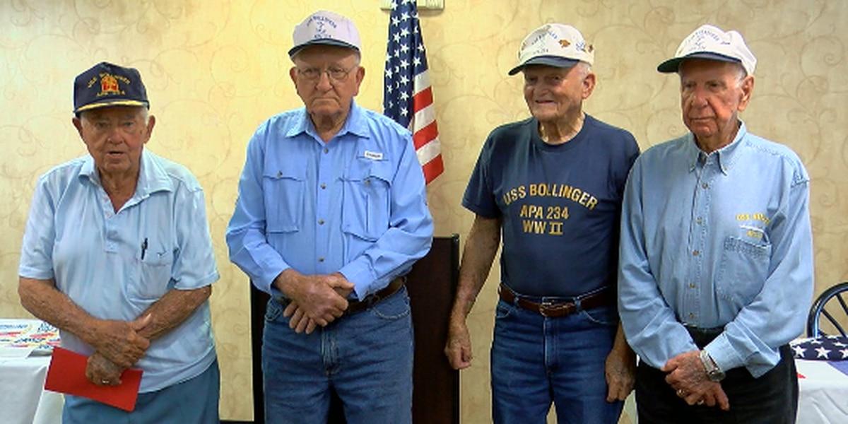 World War II veterans, East Texas boys meet every year to talk about the good ol' days